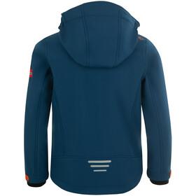 TROLLKIDS Trollfjord Jacket Kids mystic blue/orange